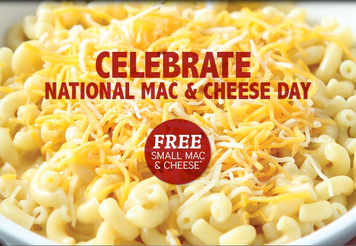 mac and cheese day